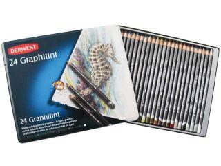 Komplet Graphitint - 24 kolory, op. metalowe