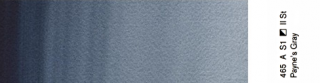 Akwarele Professional  Winsor & Newton 5 ml - 465 Paynes Gray s.1