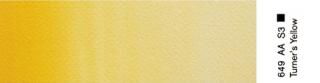 Akwarele Winsor&Newton Professional 5 ml - 649 Turners Yellow s.3