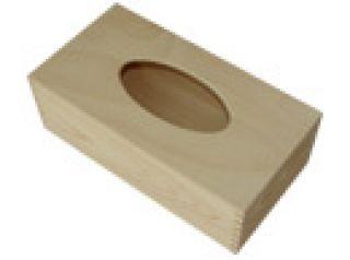 Pudełko na chusteczki - prostokątne