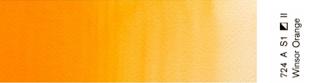 Akwarele Winsor&Newton Professional 5 ml - 724 Winsor Orange s. 1