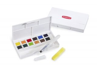 Derwent Inktense Travel Set - tusz w kostkach - Set 1