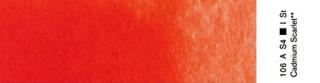 Akwarele Winsor&Newton Professional 5 ml - 106 Cadmium Scarlet s.4