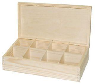 Pudełko na herbatę - 2915 - 8 bez zapięcia