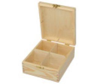 Pudełko na herbatę - 297 - 4 z dużym zapięciem