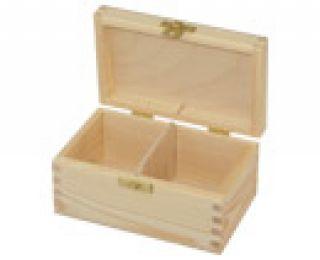 Pudełko na herbatę - 306 - 2 z dużym zapięciem