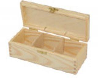 Pudełko na herbatę - 307 - 3 z dużym zapięciem