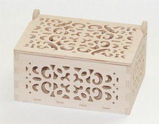Pudełko ażurowe - 3088 - 15,2 x 11,2 x 8,2