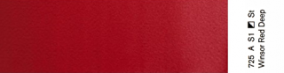 Akwarele Winsor&Newton Professional 5 ml - 725 Winsor Red Deep s.1