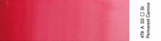 Akwarele Winsor&Newton Professional 5 ml - 479 Permanent Carmine s.3