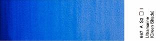 Akwarele Winsor&Newton Professional 5 ml - 667 Ultramarine (Green Shade) s.2