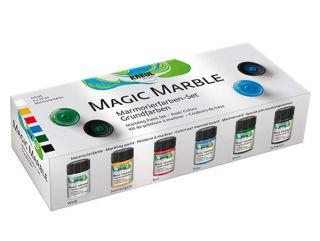 Zestaw farb Magic Marble - Kolory podstawowe