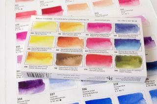 Farby akwarelowe Aquarius zestaw - 12 kolorów  Krzysztofa Kowalskiego