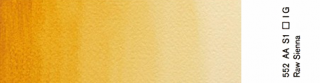 Akwarele Winsor&Newton Professional 5 ml - 552 Raw Sienna s.1