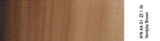 Akwarele Professional  Winsor & Newton 5 ml - 676 Vandyke Brown s.1