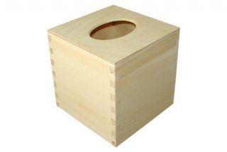 Pudełko na chusteczki - kwadratowe