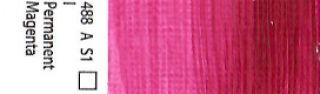 Farba akrylowa Galeria Winsor & Newton 120 ml - 488 Permanent Magenta