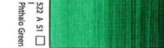 Farba akrylowa Galeria Winsor & Newton 120 ml - 522 Phthalo Green
