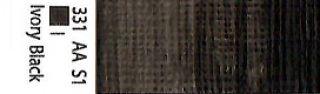 Farba akrylowa Galeria Winsor & Newton 120 ml - 331 Ivory Black