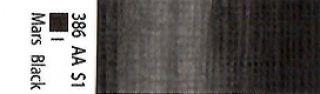 Farba akrylowa Galeria Winsor & Newton 120 ml - 386 Mars Black