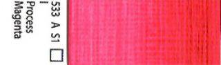 Farba akrylowa Galeria Winsor & Newton 120 ml - 533 Process Magenta