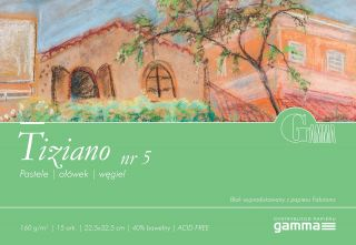 Blok Tiziano 160g 15ark - 05 - 22,5x32,5cm