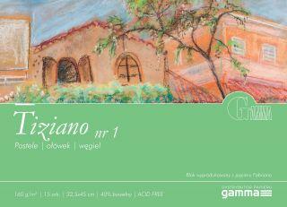 Blok Tiziano 160g 15ark - 01 - 32,5x45cm