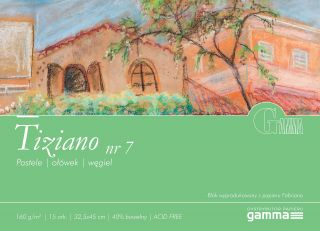 Blok Tiziano 160g 15ark - 07 - 32,5x45cm