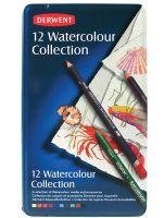 Zestaw Watercolour Collection - 12 szt. - op. metalowe