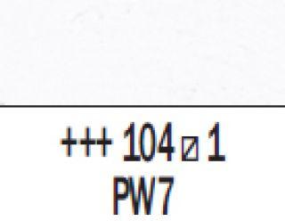 Farba akrylowa Rembrandt 40ml - 104 Biel cynkowa, s1
