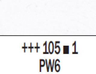 Farba akrylowa Rembrandt 40ml - 105 Biel tytanowa, s1