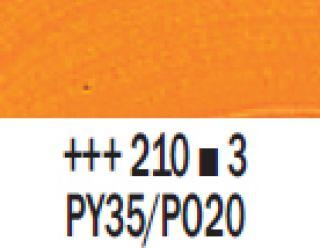 Farba akrylowa Rembrandt 40ml - 210 Żółty kadmowy ciemny, s3