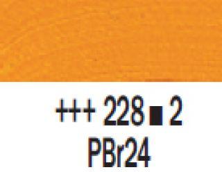 Farba akrylowa Rembrandt 40ml - 228 Żółta ochra jasna, s2