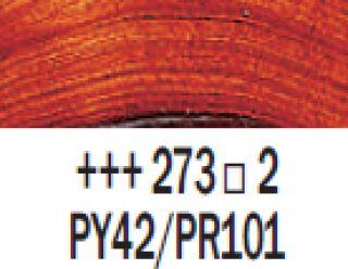 Farba akrylowa Rembrandt 40ml - 273 Pomarańczowy transparentny ox., s2