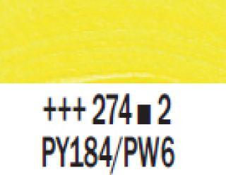 Farba akrylowa Rembrandt 40ml - 274 Żółty tytanowo-nikolowy, s2