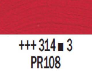 Farba akrylowa Rembrandt 40ml - 314 Czerwony kadm. średni, s3