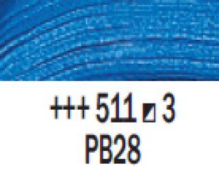 Farba akrylowa Rembrandt 40ml - 511 Niebieski kobaltowy, s3