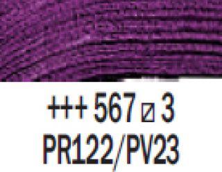 Farba akrylowa Rembrandt 40ml - 567 Fiolet perm. czerwony, s3