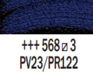 Farba akrylowa Rembrandt 40ml - 568 Fiolet perm. niebieski, s3