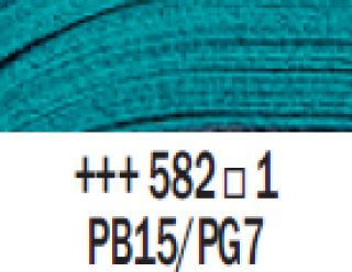 Farba akrylowa Rembrandt 40ml - Błękit manganowy ftalowy, s1