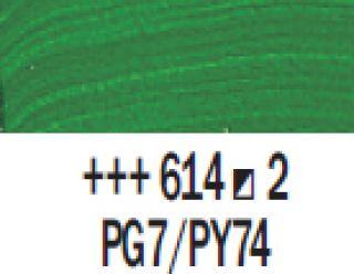 Farba akrylowa Rembrandt 40ml - 614 Zielony perm. średni, s2