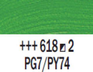 Farba akrylowa Rembrandt 40ml - 618 Zielony perm. jasny, s2