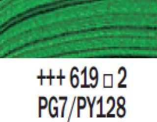 Farba akrylowa Rembrandt 40ml - 619 Zieleń perm. ciemna, s2