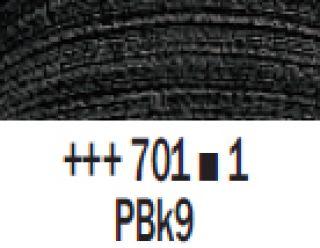 Farba akrylowa Rembrandt 40ml - 701 Czerń słoniowa, s1