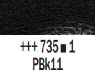 Farba akrylowa Rembrandt 40ml - 735 Czarny oxydowy, s1