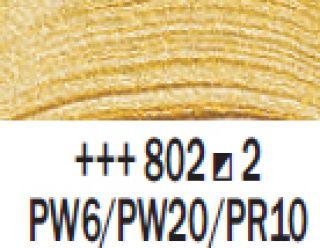 Farba akrylowa Rembrandt 40ml - 802 Złoty jasny, s2