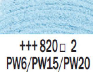 Farba akrylowa Rembrandt 40ml - 820 Niebieski perłowy, s2
