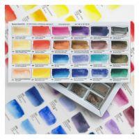 Zestaw farb akwarelowych Aquarius - 24 kolorów P. Fracasso
