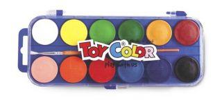 Akwarele Toy Color - 702 - 12 kolorów