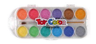 Akwarele Toy Color - 767- 12 kolorów - perłowe